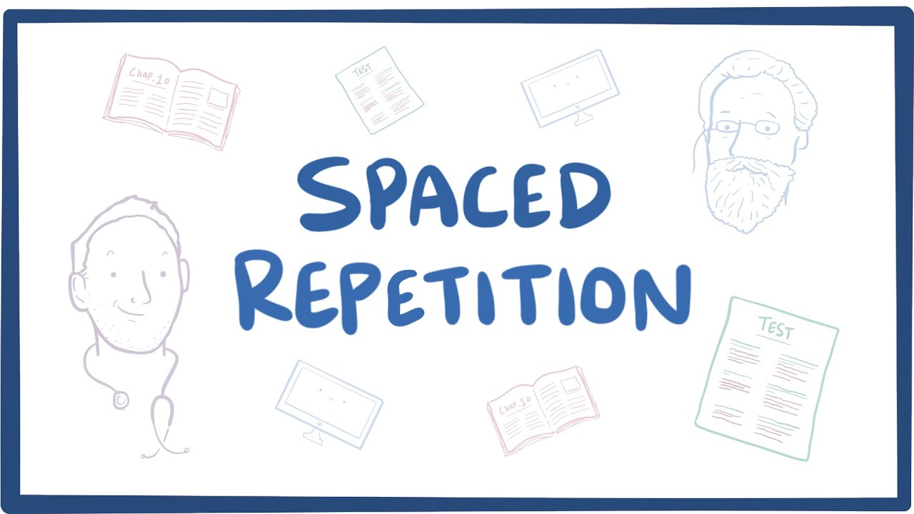 But what does spaced repetition look like, practically speaking, while preparing for such a behemoth of a test