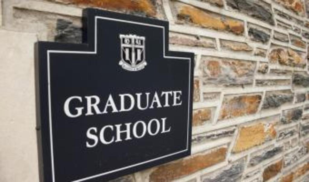 Graduate school recommendations