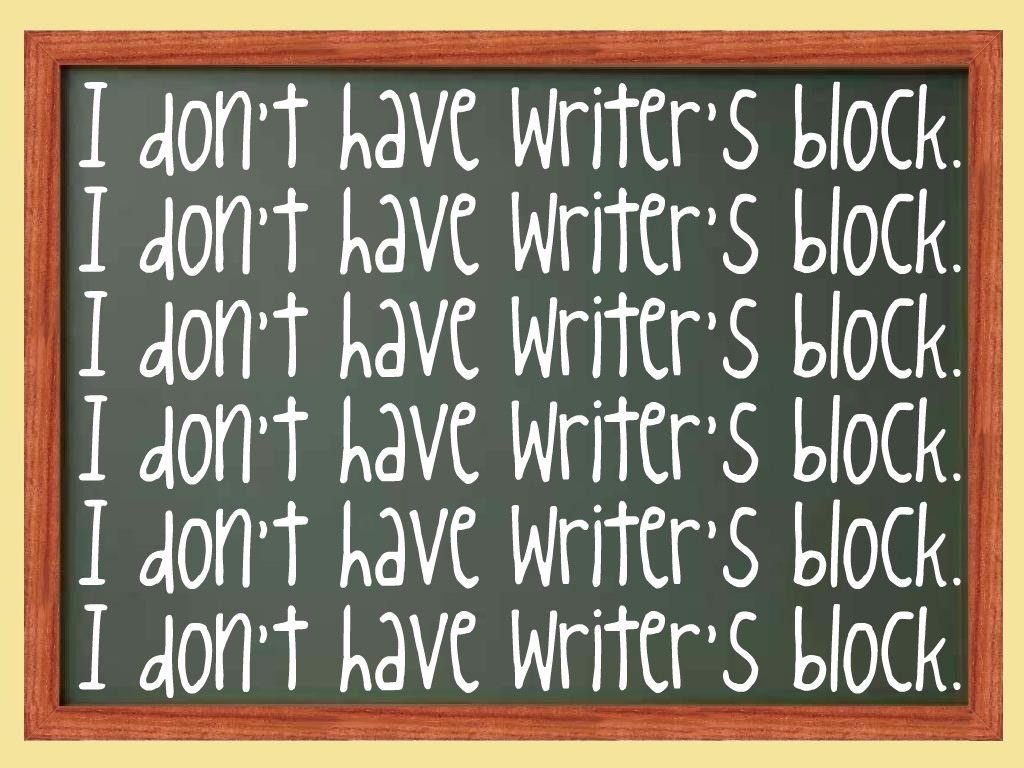 Writers block tips